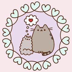 You are (we are) richer in life when you (we) have a best friend love us unconditionally. Have a wonderful day friends out there :) This is my own adaptation of this image (from Pusheen coloring book). Pusheen Love, Pusheen Plush, Pusheen Cat, Wallpaper Iphone Cute, Cute Wallpapers, Pictures To Draw, Cute Pictures, Happy Birthday Bunny, Halloween Costumes Online