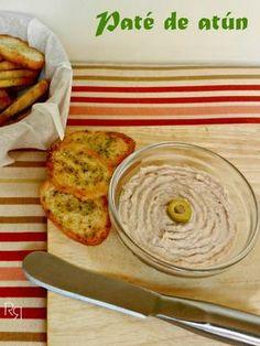 """paté de atún"" Baby Food Recipes, My Recipes, Favorite Recipes, Healthy Recipes, How To Make Dough, Food To Make, Fermented Bread, Mousse, Sauces"