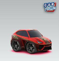 Lamborghini Urus 2012 - Red by Funkylion - LGMSports.com