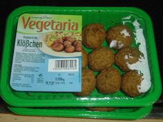 Veggiestyle.de: Vegetaria - Vegetarische Klößchen