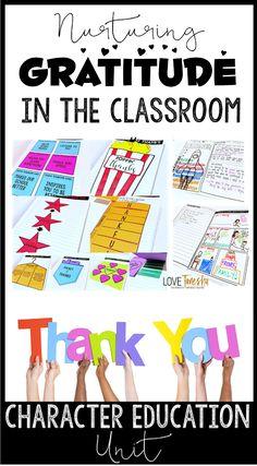 Love.Tanesha: Nurturing Gratitude in the Classroom