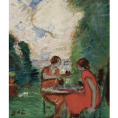 Georges d´ Espagnat, Tea Time