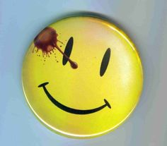 Watchmen Comedian 1 Inch pinback button by CactusMafia on Etsy