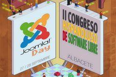 Actualidad DCI: DCI ha asistido al Joomla!Day y al II Congreso Hispano Luso de Software Libre, que se han celebrado los días 27 y 28 de septiembre en Albacete.