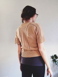 Ravelry: Pique Pullover pattern by Courtney Spainhower