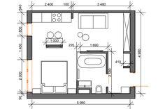 Утро в Стокгольме - SMART&MINI. Квартира до 30 кв. метров | PINWIN - конкурсы для архитекторов, дизайнеров, декораторов