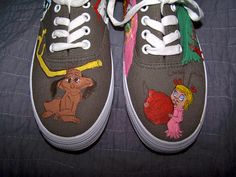 The Grinch Who Stole Christmas Shoes every side by Geekopathy
