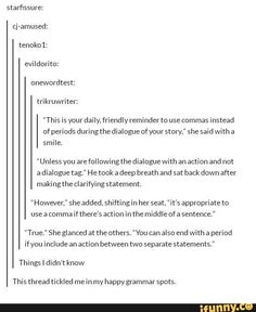 This thread tickled me in my happy grammar spots