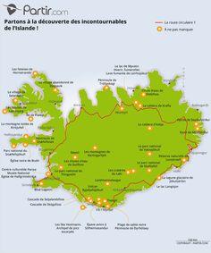 Les Fjords, Map, Travel, Site Internet, Destinations, Places, Garden, Map Iceland, Tourist Map