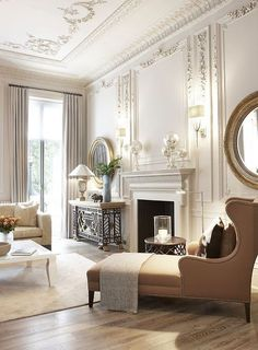 Classic interior design ideas for living rooms classic interior design ideas for living rooms best dream home interiors images on house classic interior Classic Interior, Home Interior Design, French Interior, Room Interior, Interior Livingroom, Modern Interior, Bedroom Classic, Classic Living Room, Classic Home Decor