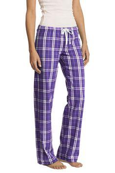 Plaid Purple Pajama Pants for Women/Juniors - $21.25 - $25.25 at The Purple Store