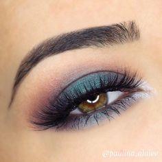 Makeup Goals, Makeup Inspo, Makeup Inspiration, Beauty Makeup, Hair Makeup, Blue Eyeshadow Looks, Makeup Looks For Green Eyes, Makeup For Brown Eyes, Make Up Tutorials