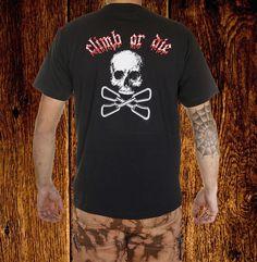 CLIMB OR DIE T-SHIRT H €13.50 Climbing, Mens Tops, T Shirt, Fashion, Bouldering, Sleeves, T Shirts, Dressmaking, Supreme T Shirt