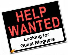 We are looking for #eco oriented guest bloggers... could that be you?