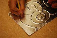 (original artwork by David, grade 5)   Art Club, Grades 1-6  This is one of my all-time favorite projects. The technique has been aroun...