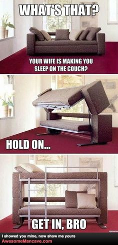 Don't like the words that come in it, but this would be great for home with guests or kids for sleepovers!