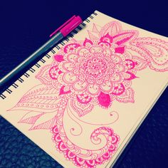 My private moment #doodle #mandala #zentangle