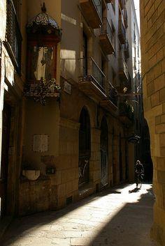 Barcelona baixada de santa Eulalia World Cup 2018, Fifa World Cup, Gothic Quarter Barcelona, Barcelona Catalonia, Cadiz, Spain And Portugal, Malaga, Street Photography, Beautiful Places