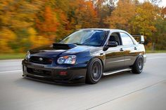 I don't know about you, but this gets me all JAZZED UP!  Subaru WRX STI