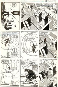 Daredevil #167. Art by Frank Miller and Klaus Janson.