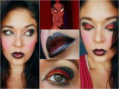 Agape Love Designs: Aladdin's Villain: Jafar Inspired Makeup