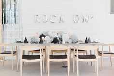Rock and Roll birthday party | Girl birthday party ideas | 100 Layer Cakelet