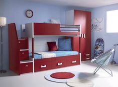 """Exceptional """"murphy bed ideas ikea queen size"""" info is readily available on our website. Take a look and you wont be sorry you did. Loft Bedroom Kids, Upstairs Bedroom, Home Bedroom, Girls Bedroom, Bedroom Decor, Bunk Beds Small Room, Bunk Bed With Trundle, Bunk Bed Plans, Kid Beds"""