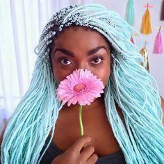 tranças afros coloridas - Pesquisa Google