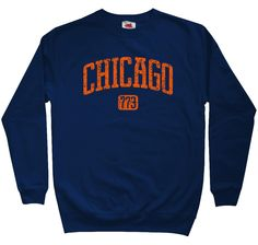 Chicago 773 Sweatshirt - Men S M L XL 2x 3x - Crewneck Chicago Shirt Windy  City - c63ebb111