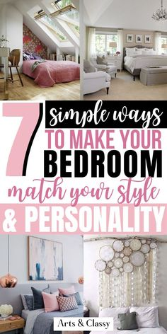 I don't want you to fret because I have come up with a simple solution to help you better theme your bedroom's design around your fun personality! Bedroom makeover on a budget | bedroom makeover master | bedroom makeover DIY | bedroom makeover small | bedroom makeover ideas | bedroom makeover cozy | bedroom makeover cheap | bedroom makeover | bedroom makeover inexpensive | bedroom makeover inspiration | bedroom makeover apartment | bedroom makeover boho | bedroom makeover decor Small Bedroom Ideas For Women, Bedroom Decor For Women, Bedroom Themes, Diy Bedroom Decor, Diy Home Decor, Budget Bedroom, Small Room Bedroom, Small Rooms, Cozy Bedroom