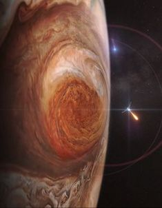 Juno Mission to Jupiter is part of Nasa mars Juno will improve our understanding of the solar system& beginnings by revealing the origin and evolution of Jupiter - Space Planets, Space And Astronomy, Nasa New Horizons, Digital Foto, Nasa Images, Nasa Photos, Planets And Moons, Nasa Planets, Hubble Space Telescope