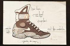 See Tinker Hatfield's Original Nike Mag Design Sketches