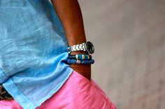 bracelets from silkknotbylaurelbis