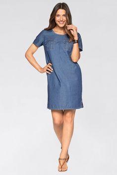 Kadın Mavi Elbise 925224