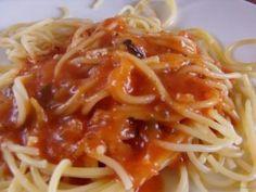 Olcsó ételreceptek - olcsó receptek, olcsó ételek, olcsó sütik Bologna, Spaghetti, Ethnic Recipes, Food, Lasagna, Essen, Yemek, Spaghetti Noodles, Meals