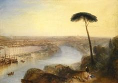 Joseph Turners masterpiece, Rome, from Mount Aventine, which is to go on sale for only the second time in 200 years. Picture: Getty