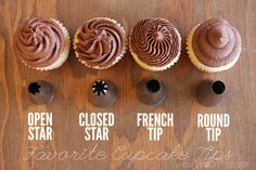 great resource for frosting cupcakes!