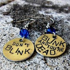 These would be awesome earrings!  Too bad I let my holes grow in.