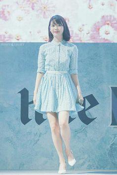 Korean Girl Fashion, Kpop Fashion, Stage Outfits, Korean Celebrities, Korean Model, Pastel Blue, Cute Girls, Pretty Girls, Kpop Girls