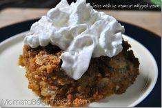Pumpkin Dump Cake {Recipe} |
