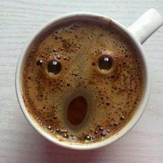Even You Coffee Is Amazed That You Are Awake This Early - Funny Animal Pictures With Captions - Very Funny Cats - Cute Kitty Cat - Wild Animals - Dogs If you think my coffee is surprised, you should see my face! A laugh. I Love Coffee, My Coffee, Morning Coffee, Coffee Art, Coffee Break, Funny Coffee, Drink Coffee, Starbucks Coffee, Black Coffee