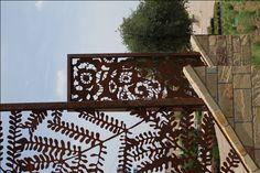 Cor Ten Steel Art Panel