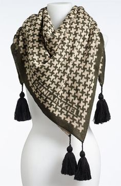 Sonia Rykiel Square Wool Shawl available at #Nordstrom