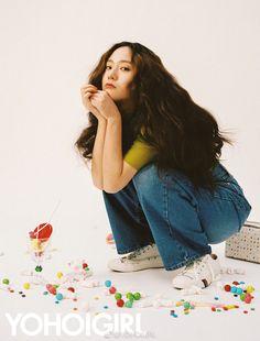 f(x) Krystal - Yoho Girl Magazine Krystal Jung, Jessica & Krystal, Photoshoot Concept, Pose Reference Photo, Korea Fashion, Photoshoot Inspiration, Girl Crushes, Kpop Girls, Victoria