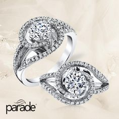 Today is the day!!! #Instant #Savings & #Free #Visa #Gift #Card up to $1000 during our #Bridal Event exclusively at #Capri #Jewelers #Arizona ♥ click for more details: http://www.caprijewelersaz.com/event ♥ Stop by NOW or shop online ♥ Sculptural gold with sparkling diamonds- would you say yes to Parade's R3659 engagement ring?