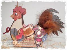 Rooster basket template Sandra's Scrapshop