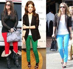 bright color jeans