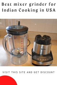Today we reviewed the Best Mixer Grinder For Indian Cooking in the USA. Read this post and buy any mixer grinder. Here we review a popular mixer grinder for you. Usa People, Spice Grinder, Mixer, Spices, Indian, Popular, Cooking, Kitchen, Spice