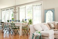 Love the open airy feel of this room.