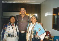 Barry Corbin (Maurice Minnifield), Elaine Miles (Marilyn Whirlwind), and Elaine's real mother, Armenia Miles (Mrs. Janine Turner, San Mateo California, People's Friend, Friends, Northern Exposure, Me Tv, Beautiful Love, Classic Tv, My People